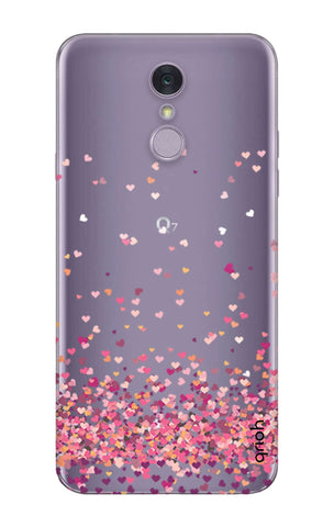 Cluster Of Hearts LG Q7 Cases & Covers Online