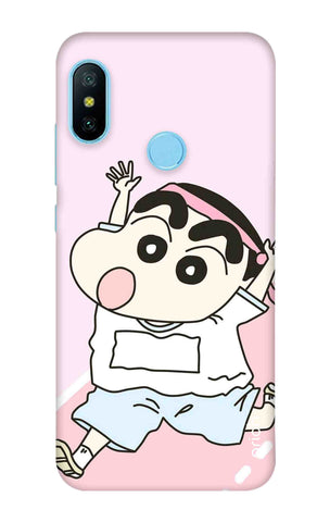 Running Cartoon Xiaomi Redmi 6 Pro Cases & Covers Online