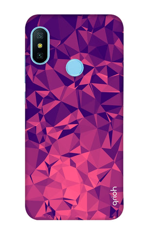 Purple Diamond Xiaomi Redmi 6 Pro Cases & Covers Online