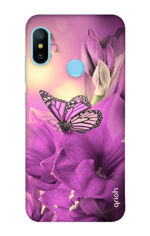 Purple Butterfly Xiaomi Redmi 6 Pro Cases & Covers Online