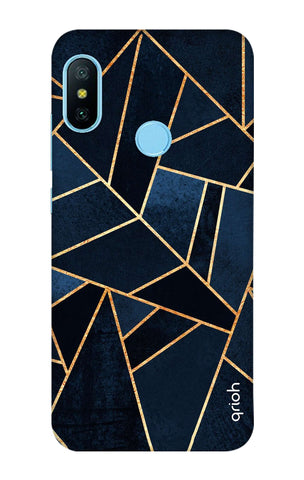 Abstract Navy Xiaomi Redmi 6 Pro Cases & Covers Online