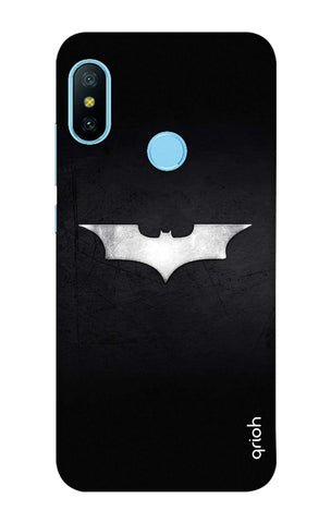 Grunge Dark Knight Xiaomi Redmi 6 Pro Cases & Covers Online
