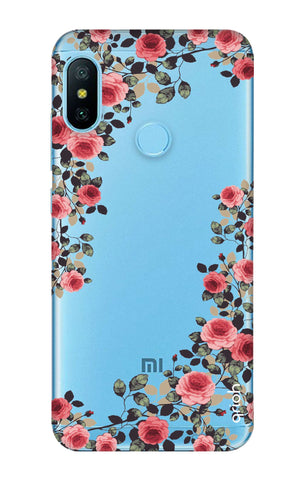Floral French Xiaomi Redmi 6 Pro Cases & Covers Online