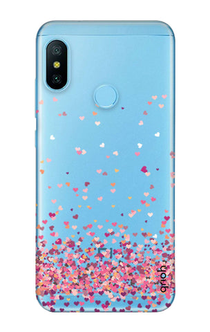 Cluster Of Hearts Xiaomi Redmi 6 Pro Cases & Covers Online