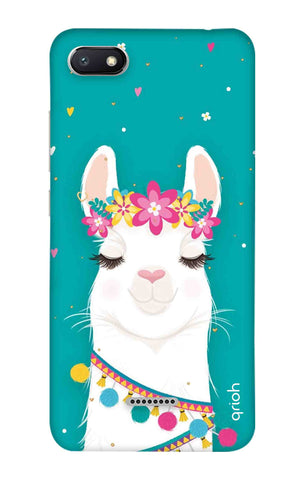 Cute Llama Xiaomi Redmi 6A Cases & Covers Online