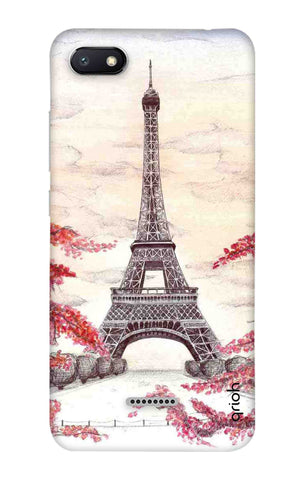 Eiffel Art Xiaomi Redmi 6A Cases & Covers Online