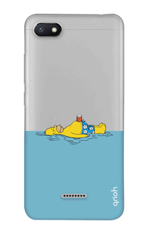 Simpson Chill Xiaomi Redmi 6A Cases & Covers Online