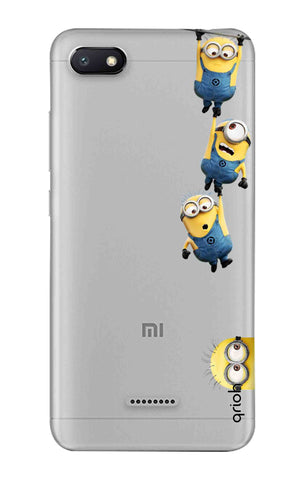 Falling Minions Xiaomi Redmi 6A Cases & Covers Online