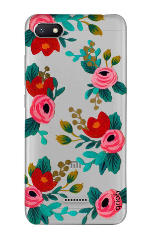 Red Floral Xiaomi Redmi 6A Cases & Covers Online