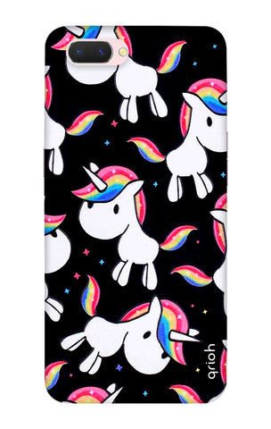 Colourful Unicorn Oppo A5 Cases & Covers Online