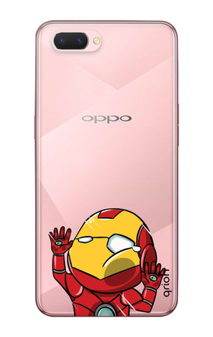 Iron Man Wall Bump Oppo A5 Cases & Covers Online
