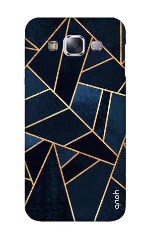 Abstract Navy Samsung E5 Cases & Covers Online