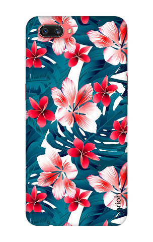 Floral Jungle Oppo A3s Cases & Covers Online