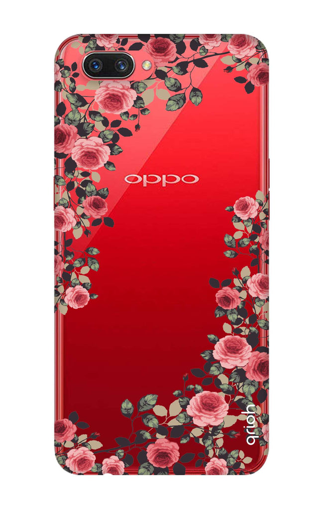 finest selection 55ba1 7e84a Floral French Case for Oppo A3s