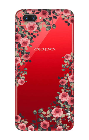 Floral French Oppo A3s Cases & Covers Online
