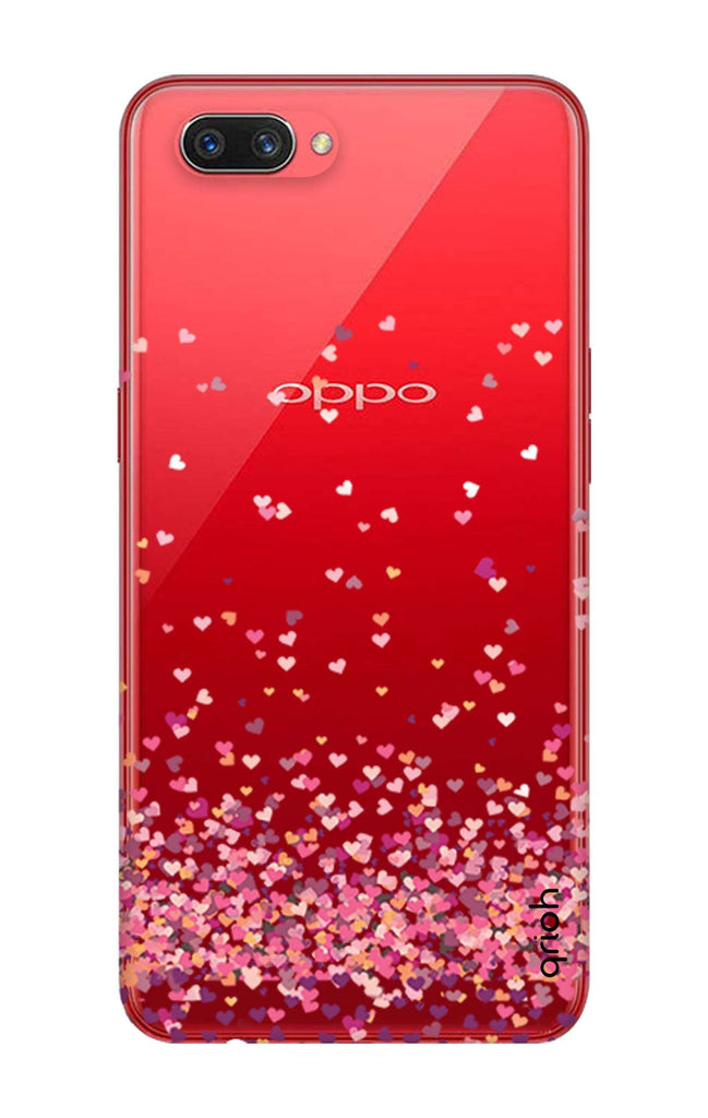 Cluster Of Hearts Oppo A3s Back Cover Flat 35 Off On Oppo A3s