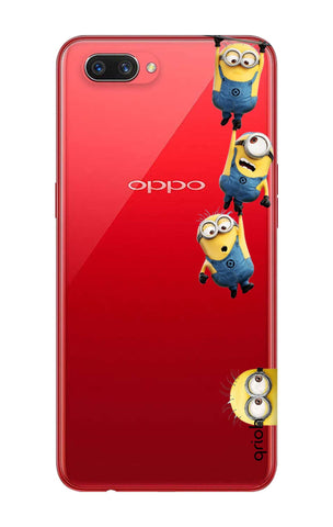 Falling Minions Oppo A3s Cases & Covers Online