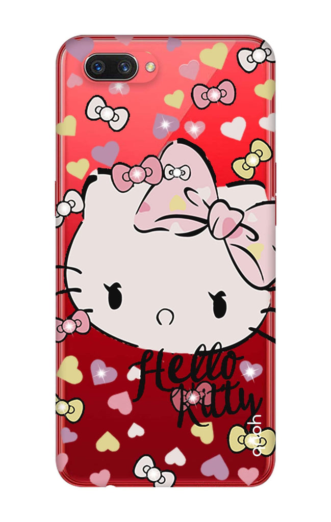 competitive price 14fba dcfcc Bling Kitty Case for Oppo A3s