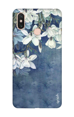 White Flower Xiaomi Mi Max 3 Cases & Covers Online