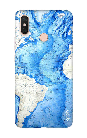 World Map Xiaomi Mi Max 3 Cases & Covers Online