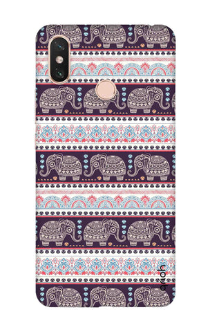 Elephant Pattern Xiaomi Mi Max 3 Cases & Covers Online