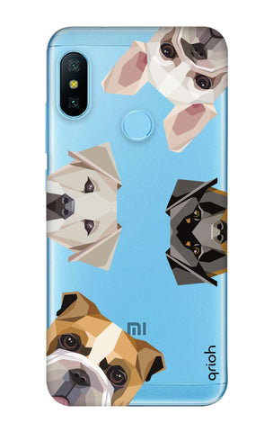 Geometric Dogs Xiaomi Mi A2 Lite Cases & Covers Online