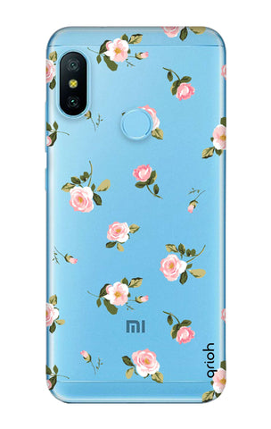 Pink Rose All Over Xiaomi Mi A2 Lite Cases & Covers Online