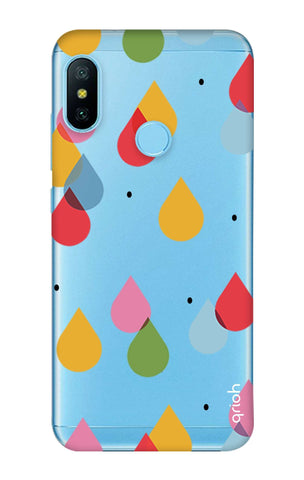 Colourful Drops Xiaomi Mi A2 Lite Cases & Covers Online