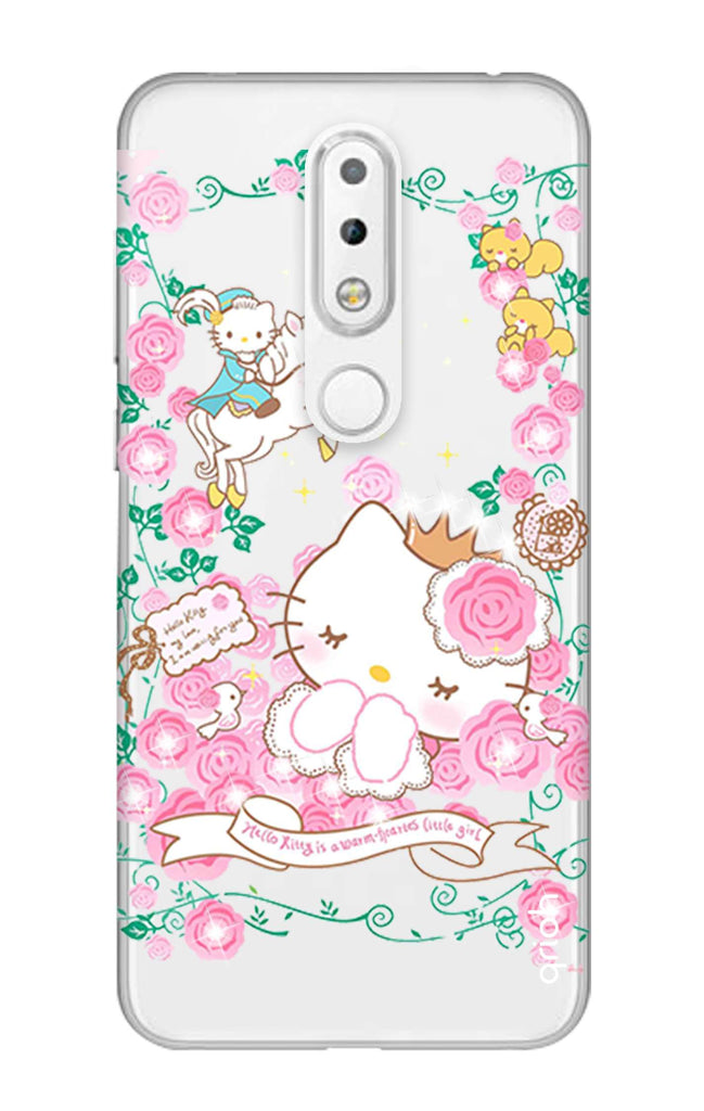 huge discount 26fbe a941c Sleepy Kitty Case for Nokia 5.1 Plus