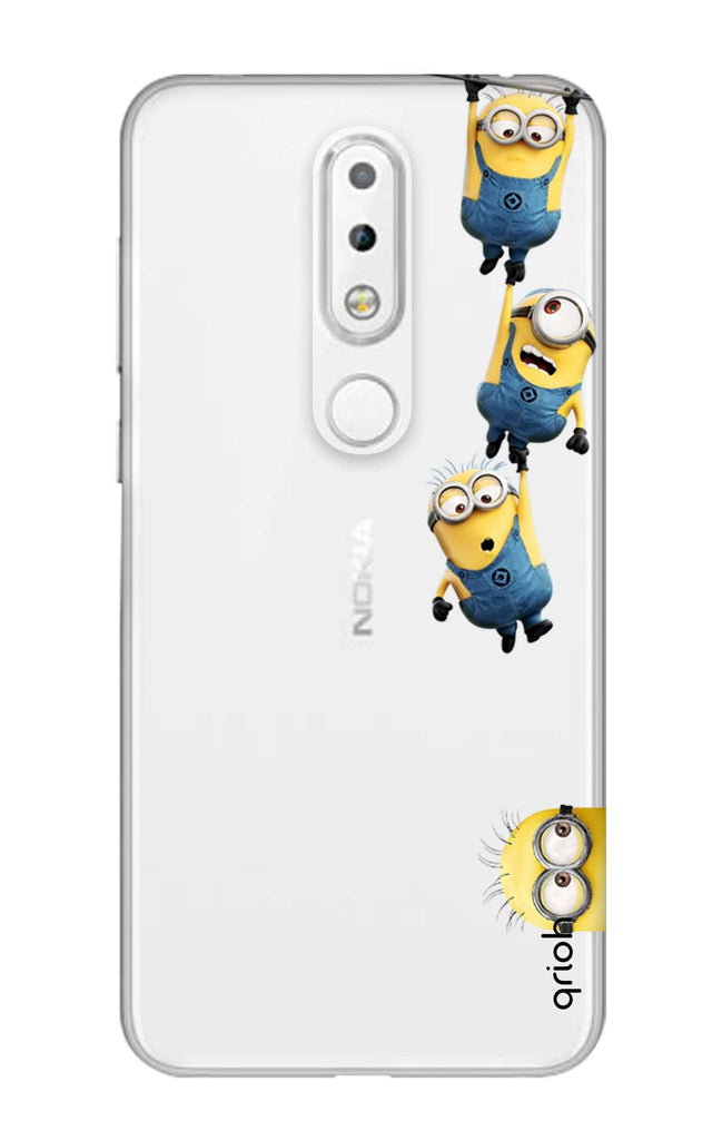 best service d706e f59ec Falling Minions Case for Nokia 6.1 Plus
