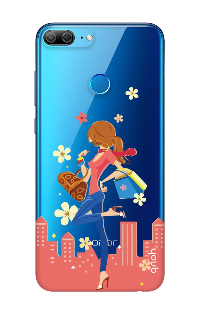 low priced 9046a 69bbf Shopping Girl Case for Honor 9N