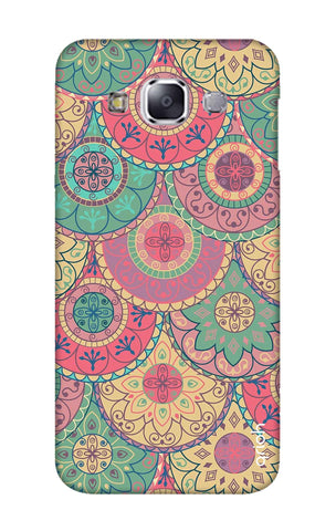 Colorful Mandala Samsung E7 Cases & Covers Online