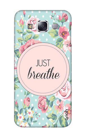 Vintage Just Breathe Samsung E7 Cases & Covers Online