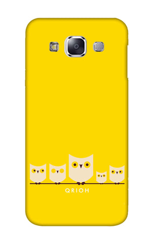 Owl Family Samsung E7 Cases & Covers Online