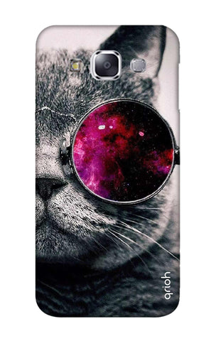 Curious Cat Samsung E7 Cases & Covers Online