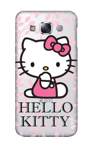 Hello Kitty Floral Samsung E7 Cases & Covers Online
