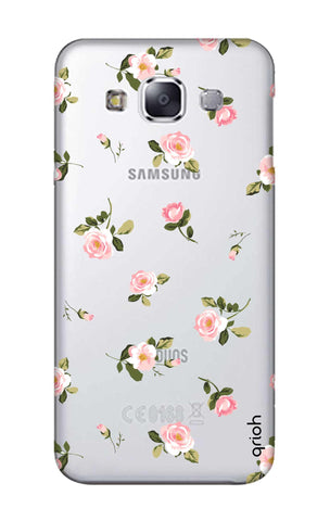 Pink Rose All Over Samsung E7 Cases & Covers Online
