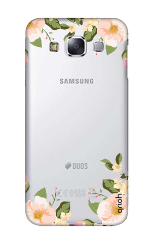 Flower In Corner Samsung E7 Cases & Covers Online