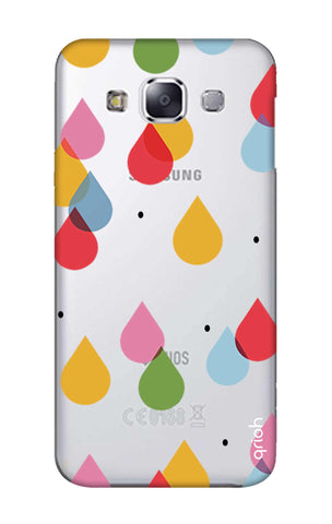 Colourful Drops Samsung E7 Cases & Covers Online