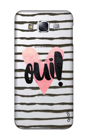 Oui! Samsung E7 Cases & Covers Online