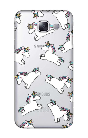 Jumping Unicorns Samsung E7 Cases & Covers Online