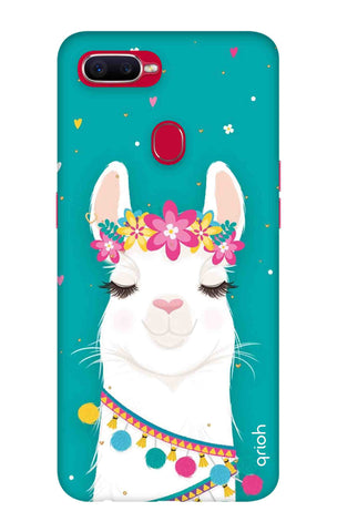 Cute Llama Oppo F9 Pro Cases & Covers Online