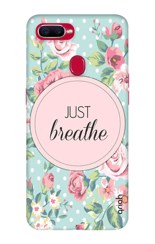Vintage Just Breathe Oppo F9 Pro Cases & Covers Online