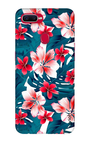 Floral Jungle Oppo F9 Pro Cases & Covers Online