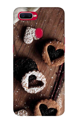Heart Cookies Oppo F9 Pro Cases & Covers Online