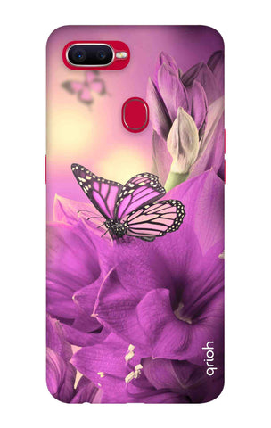 Purple Butterfly Oppo F9 Pro Cases & Covers Online