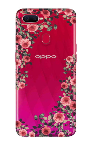 Floral French Oppo F9 Pro Cases & Covers Online