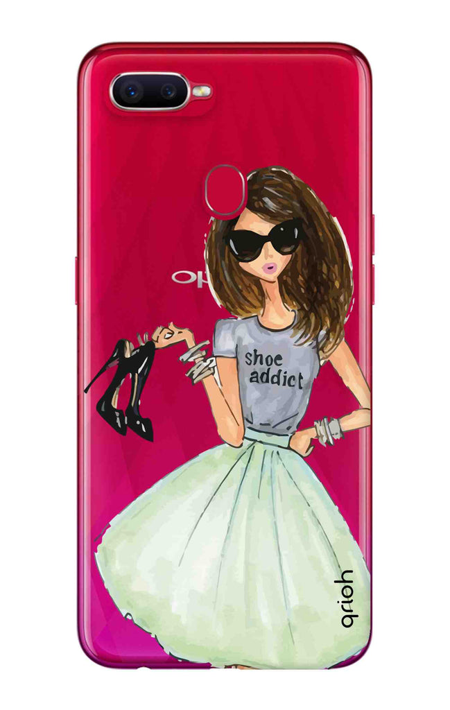 huge selection of c4992 c88c4 Love For Shoes Case for Oppo F9 Pro
