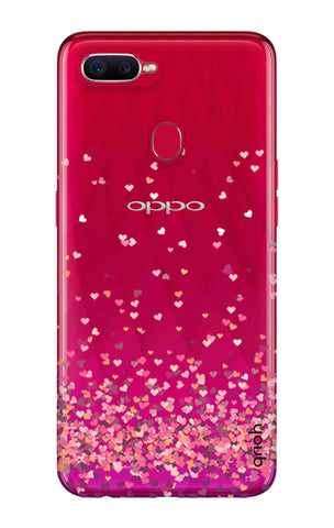 Cluster Of Hearts Oppo F9 Pro Cases & Covers Online