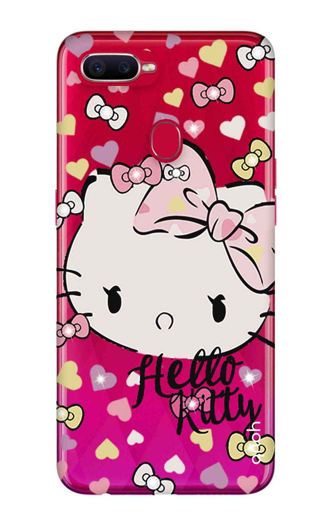 cheap for discount 7ccb8 7d1f8 Bling Kitty Case for Oppo F9 Pro